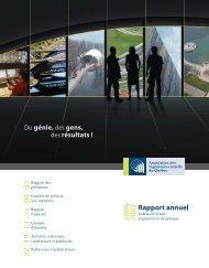 Rapport annuel 2006-2007 - Association des ingénieurs-conseils du ...