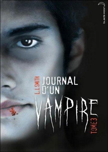 Journal d'un vampire..