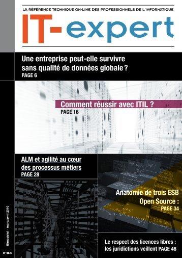 Comment réussir avec ITIL ? - IT-expert Magazine