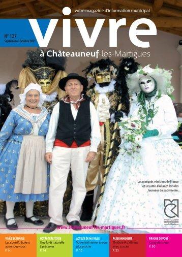 Vivre 127 (pdf - 5,63 Mo) - Site officiel de la ville de Châteauneuf-les ...