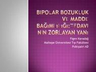 Maltepe Üniver Figen Karadağ Maltepe Üniversitesi Tıp Fakültesi ...