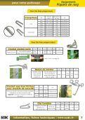 Le spécialiste du palissage - Scdc, le palissage de la vigne - Page 7