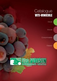 Catalogue Viti-Vinicole - Ets Voisin