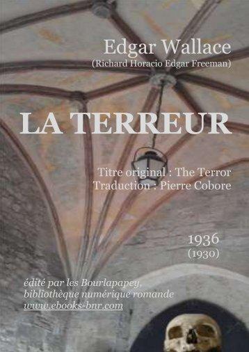 LA TERREUR - Bibliothèque numérique romande
