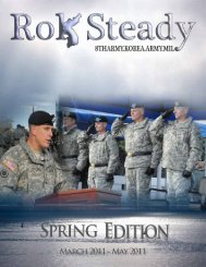 ROK Steady - Eighth Army - U.S. Army