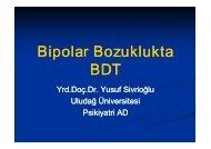 Bipolar Bozuklukta BDT
