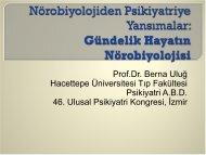 Günlük Hayatın Nörobiyolojisi