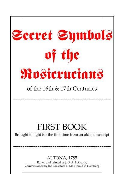 Secret Symbols First Book pdf