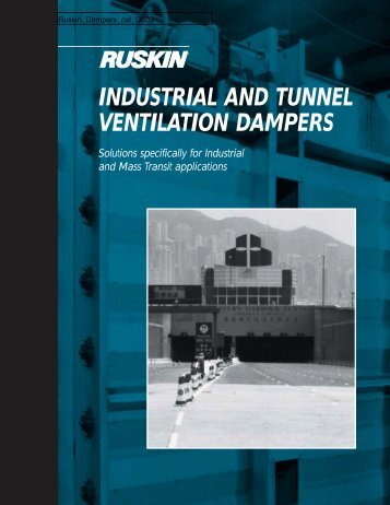 industrial rectangular & round dampers