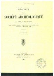 société archéologique - Académies et sociétés savantes de Toulouse