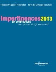 Grand prix de l'Impertinence et des Bonnes ... - La prospective