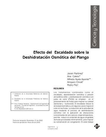 Rev.Ing. y Competitividad Vol 4, No 2,P.27-33,2003.pdf - Biblioteca ...