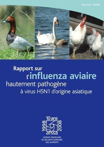 Rapport sur l'influenza aviaire - Anses