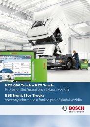 KTS 800 Truck a KTS Truck: Profesionální řešení pro ... - Bosch
