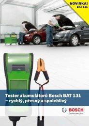 Tester akumulátorů Bosch BAT 131 - Automobilová technika - Bosch
