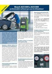 Bosch ACS 600 a ACS 650