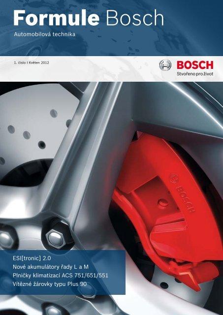 Formule Bosch 1/2012 (PDF) - Automobilová technika - Bosch