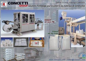 Solutions d'emballage pour le ciment & les matériaux de ...