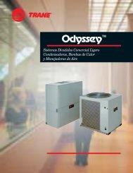 Odyssey - Sistemas Divididos Comercial Ligero ... - Aba Confort
