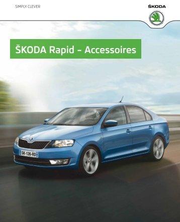 ŠKODA Rapid – Accessoires - Skoda