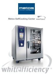 Metos SelfCooking Center