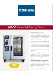 MSCC Metos SelfCooking Center