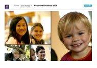 Forældretilfredshed 2009 - Dagtilbud-Aarhus - Børn og Unge