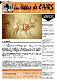 No. 30 - Amis de l'Art rupestre saharien (AARS)