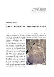 "Rock Art West of Dakhla: ""Water Mountain"" Symbols - Amis de l'Art ..."