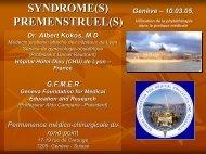 Syndrome(s) - Fondation Genevoise pour la formation et la ...