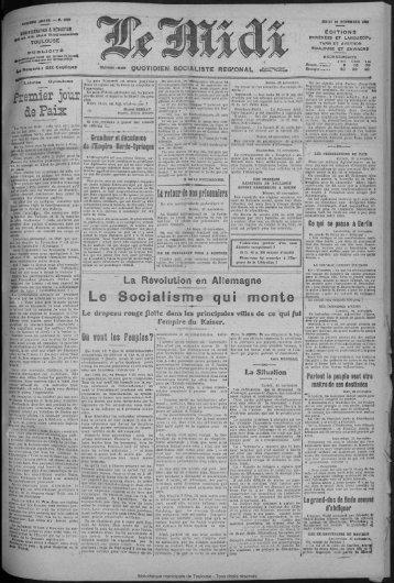 ler jour - Bibliothèque de Toulouse