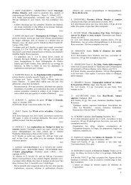 sahara liste.pdf - Amis de l'Art rupestre saharien (AARS)