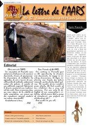 No. 32 - Amis de l'Art rupestre saharien (AARS)