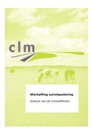 Afschaffing zuivelquotering - Platform Aarde Boer Consument