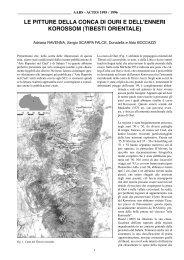 le pitture della conca di ouri e dell'enneri korossom (tibesti orientale)
