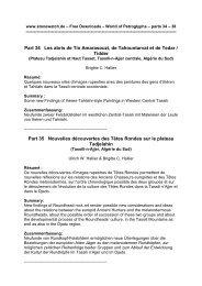 5 articles - Amis de l'Art rupestre saharien (AARS)
