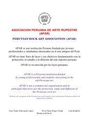 apar - Amis de l'Art rupestre saharien (AARS)