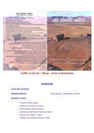 projet parc jbel sar.. - Amis de l'Art rupestre saharien (AARS)