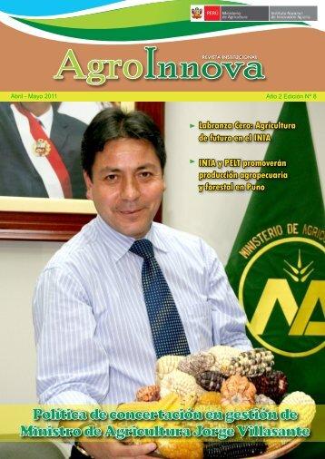 Revista Institucional AgroInnova - Inia