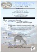 5e rencontres sahariennes en Auvergne - Amis de l'Art rupestre ... - Page 2