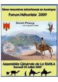 5e rencontres sahariennes en Auvergne - Amis de l'Art rupestre ... - Page 6