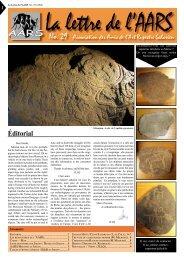 lettre_ 29.pdf - Amis de l'Art rupestre saharien (AARS)