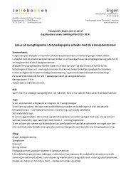 Bakkerne – dagtilbud i Risskov - Dagtilbud-Aarhus