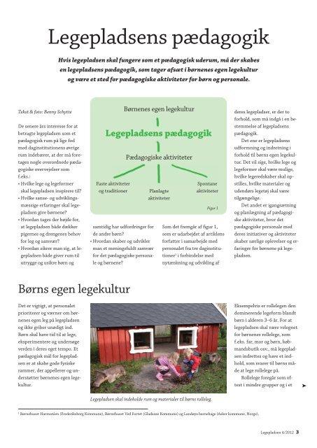 tema: udeLiv & pædagogik - Dagtilbud-Aarhus