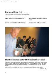 Børn og Unge Nyt nr. 4 - Aarhus.dk