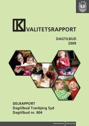 VALITETSRAPPORT - Dagtilbud-Aarhus