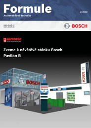 Zveme k návštěvě stánku Bosch Pavilon B - Automobilová technika ...