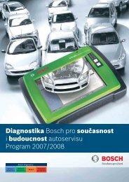 Diagnostika Bosch pro současnost i budoucnost autoservisu ...