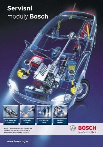 Servisní moduly Bosch