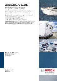 PDF brožura akumulátorů pro volný čas - Bosch